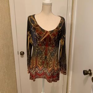Live and Let Live Women's Top Size Large